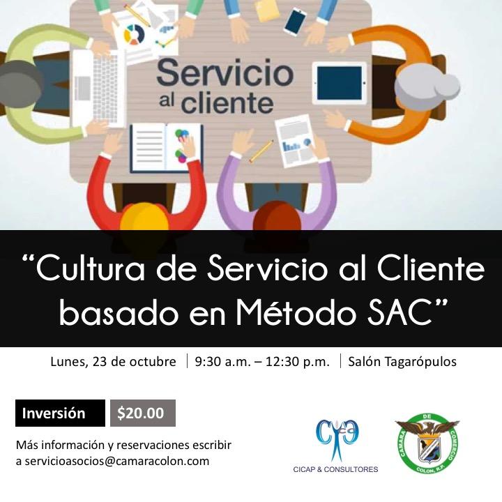 Cultura de Servicio al Cliente Basado en Método SAC