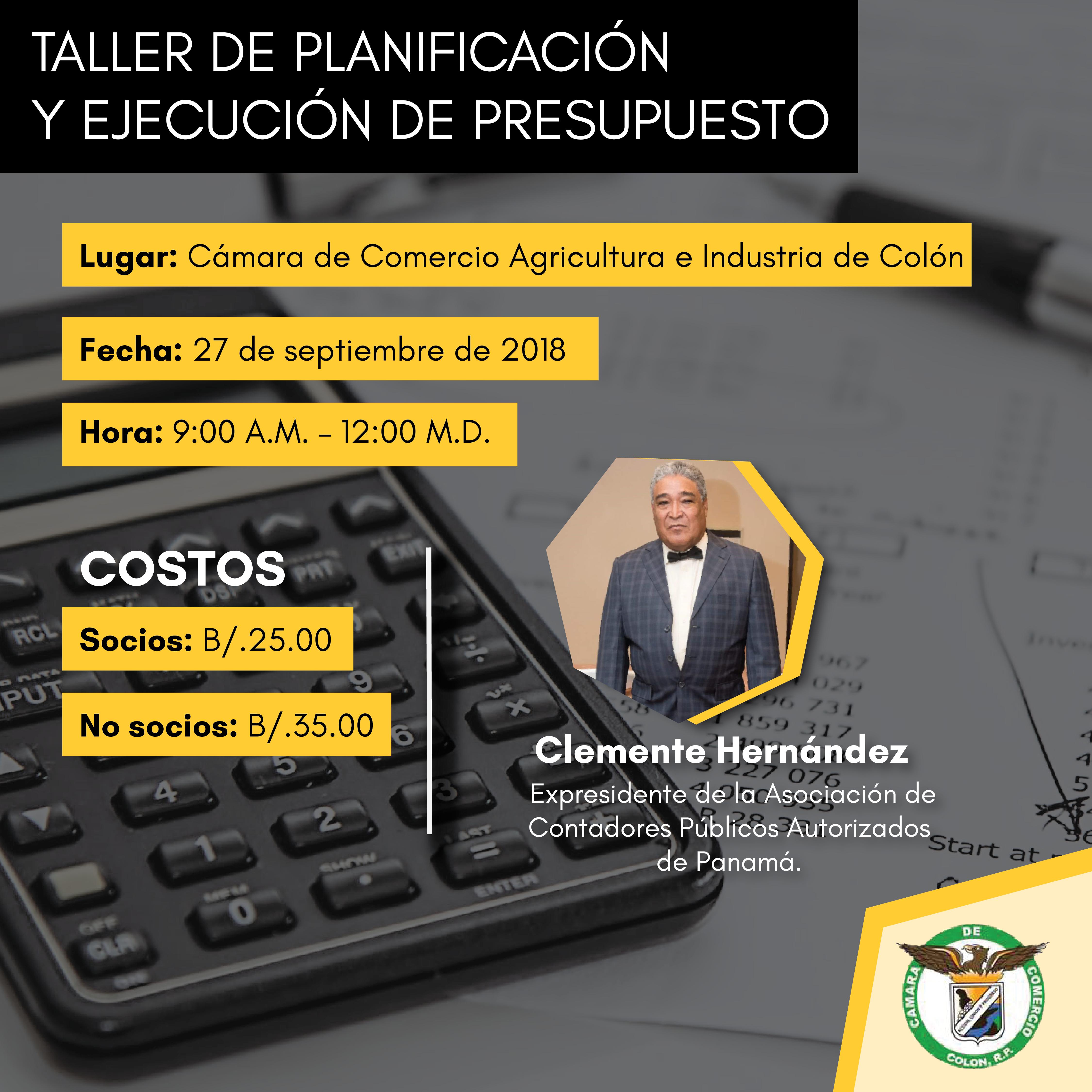 Taller de Planificación y Ejecución de Presupuesto